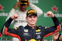 Verstappen avenges lost win as Mercedes stumble and Ferrari self-destruct in Brazil