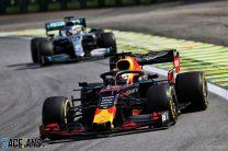 Max Verstappen, Red Bull, Interlagos, 2019
