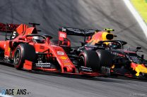 Sebastian Vettel, Alexander Albon, Interlagos, 2019