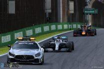 "Surprise Safety Car was called because Bottas's Mercedes got ""stuck"""
