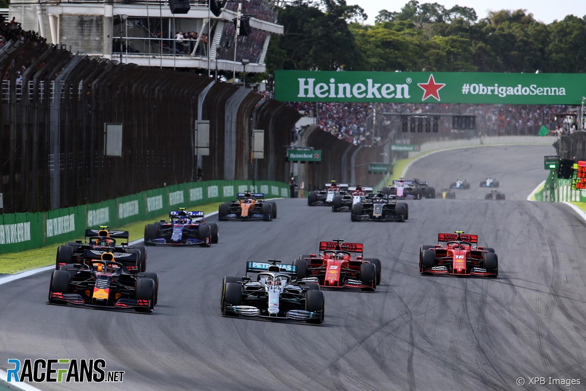 Start, Interlagos, 2019
