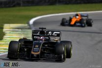 Romain Grosjean, Haas, Interlagos, 2019