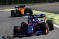 Pierre Gasly, Toro Rosso, Interlagos, 2019
