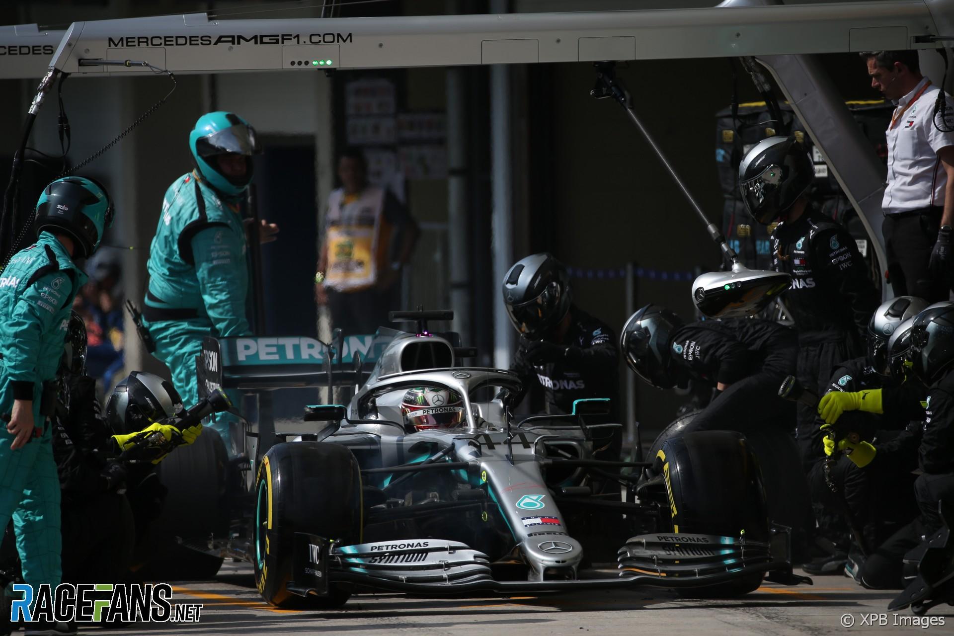 Lewis Hamilton, Mercedes, Interlagos, 2019