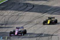 Sergio Perez, Racing Point, Interlagos, 2019