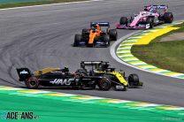 Kevin Magnussen, Daniel Ricciardo, Interlagos, 2019