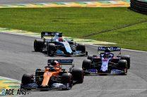 Carlos Sainz Jnr, McLaren, Interlagos, 2019