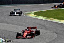 Sebastian Vettel, Ferrari, Interlagos, 2019