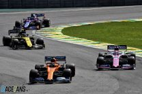 Why stewards didn't investigate drivers for using DRS under yellow flags