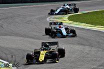 Daniel Ricciardo, Renault, Interlagos, 2019
