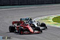 Charles Leclerc, Ferrari, Interlagos, 2019