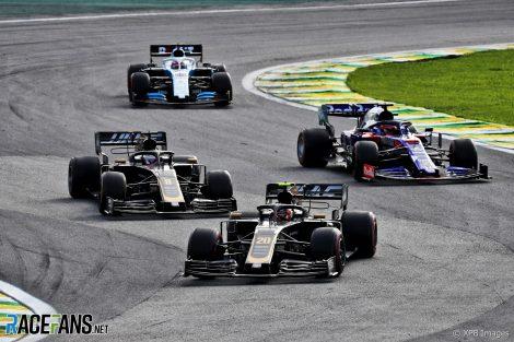 Kevin Magnussen, Haas, Interlagos, 2019