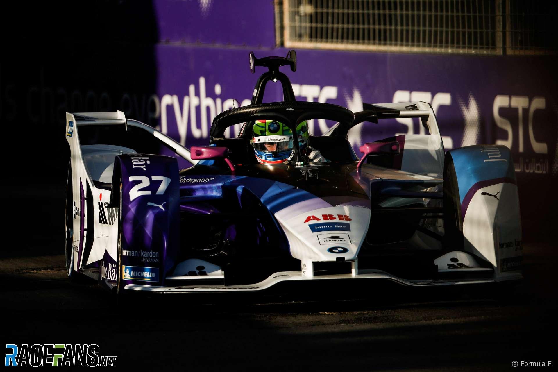 Alexander Sims, BMW, Formula E, Diriyah, 2019