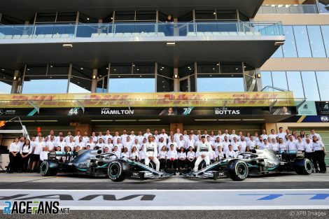 Lewis Hamilton, Valtteri Bottas, Mercedes, Yas Marina, 2019