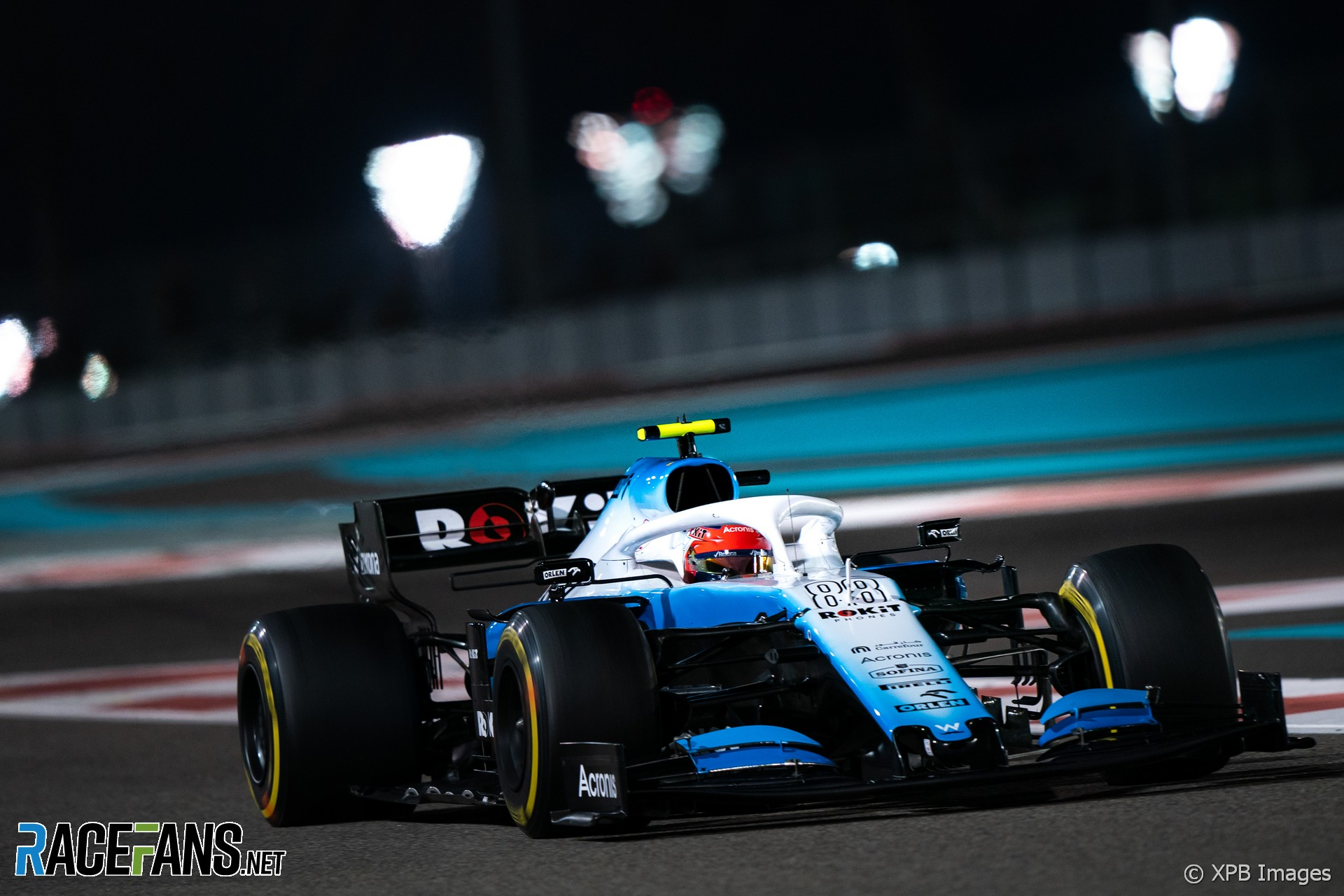 Robert Kubica, Williams, Yas Marina, 2019