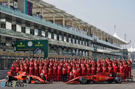 Ferrari, Yas Marina, 2019