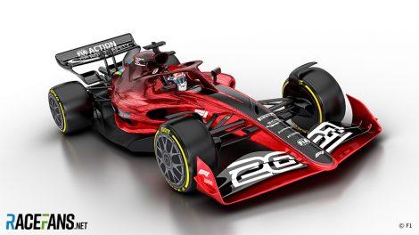 2021 F1 car image