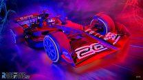 2021 F1 car graphic