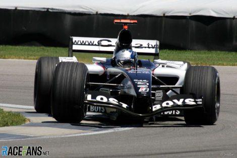 Patrick Friesacher, Minardi, Indianapolis 2005