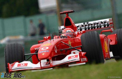 Michael Schumacher, Ferrari, Suzuka, 2002