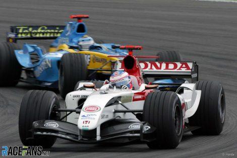Jenson Button, BAR-Honda, Nurburgring, 2004