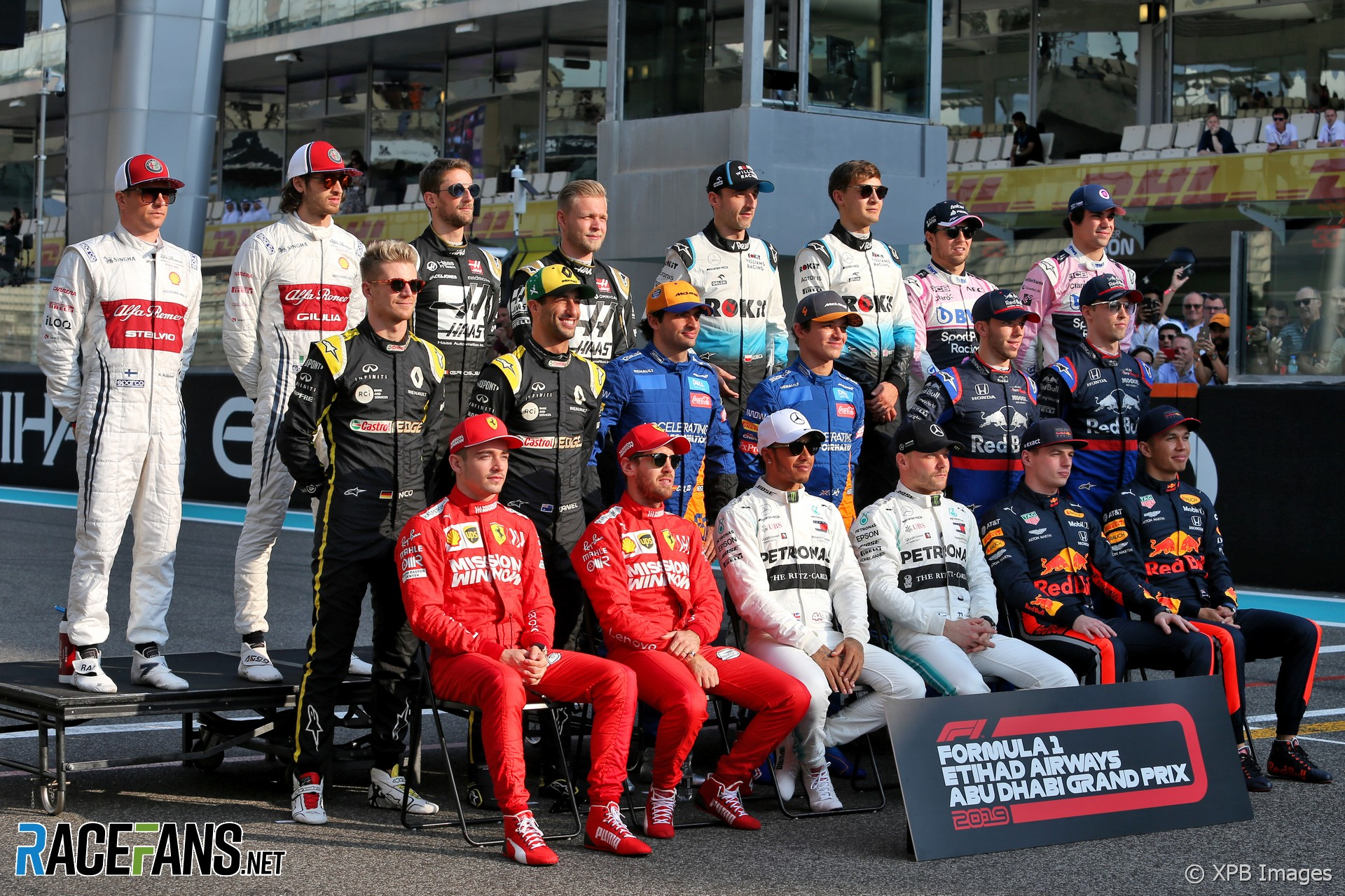 2020 F1 Drivers And Teams Racefans