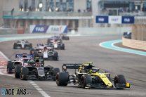 Nico Hulkenberg, Renault, Yas Marina, 2019