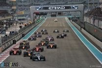 2020 Abu Dhabi Grand Prix TV Times
