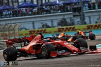 Sebastian Vettel, Ferrari, Yas Marina, 2019