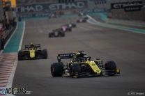 Daniel Ricciardo, Renault, Yas Marina, 2019