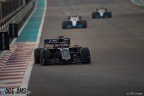 Romain Grosjean, Haas, Yas Marina, 2019