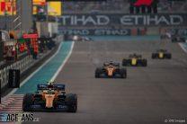 Lando Norris, McLaren, Yas Marina, 2019