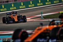 Carlos Sainz Jnr, McLaren, Yas Marina, 2019