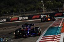 Daniil Kvyat, Toro Rosso, Yas Marina, 2019