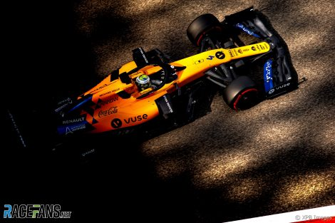 Lando Norris, McLaren, Yas Marina