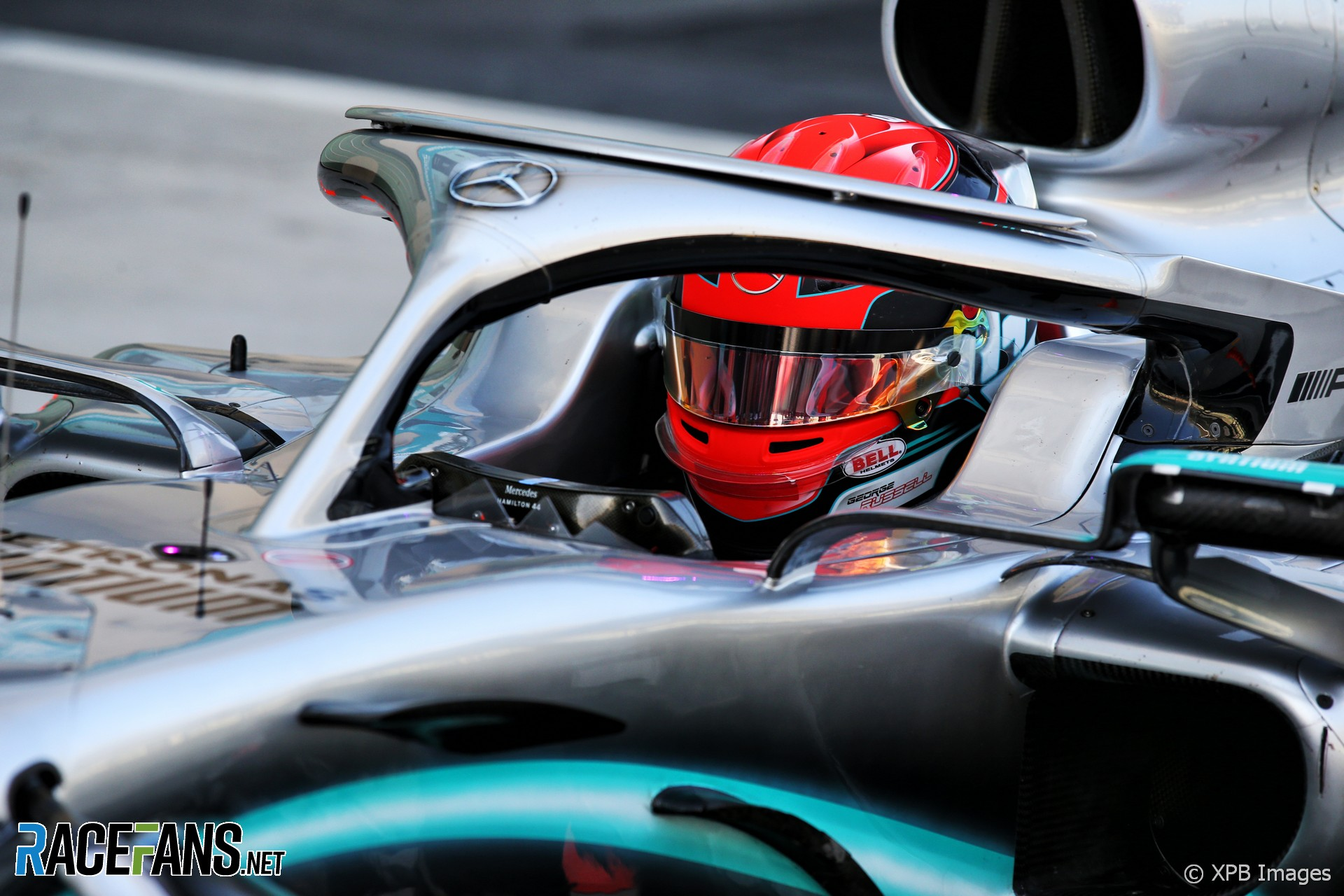 George Russell, Mercedes, Yas Marina