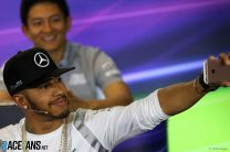 Hamilton received 'stack of legal letters' from Ecclestone over social media use
