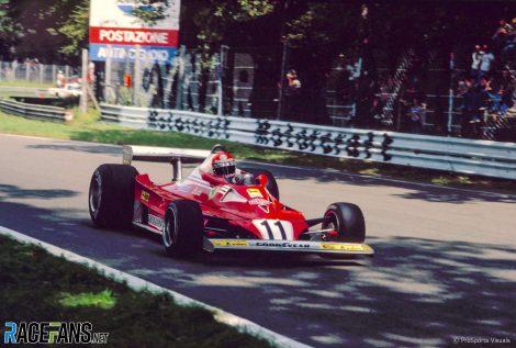 Niki Lauda, Ferrari, Monza, 1977