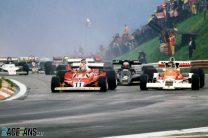 Start, Niki Lauda, James Hunt, Osterreichring, 1977