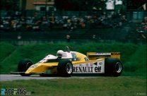 Rene Arnuox, Renault, Interlagos, 1980
