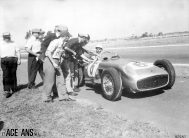 Stirlong Moss, Buenos Aires, Mercedes, 1955