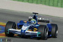 Felipe Massa, Sauber C24, Valencia, 2005