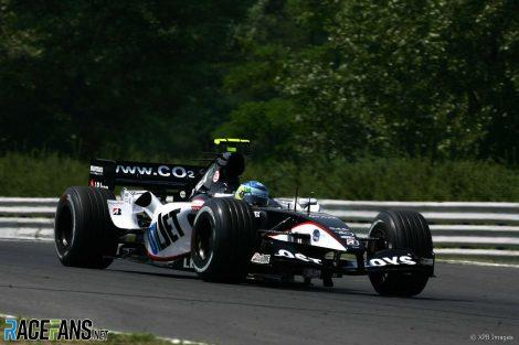 Chanoch Nissany, Minardi, Hungaroring, 2005