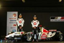 Jenson Button, Takuma Sato, BAR Honda 007 Launch, Circuit de Catalunya, 2005