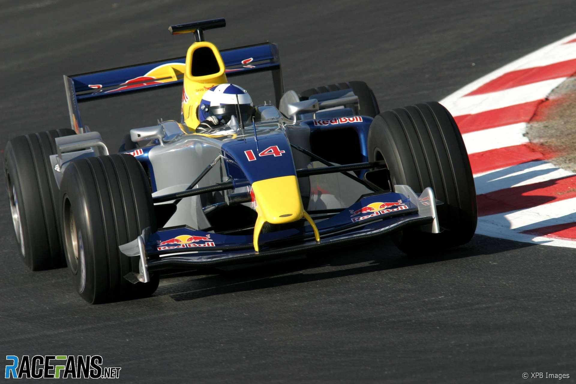 David Coulthard, Red Bull, Circuit de Catalunya, 2005