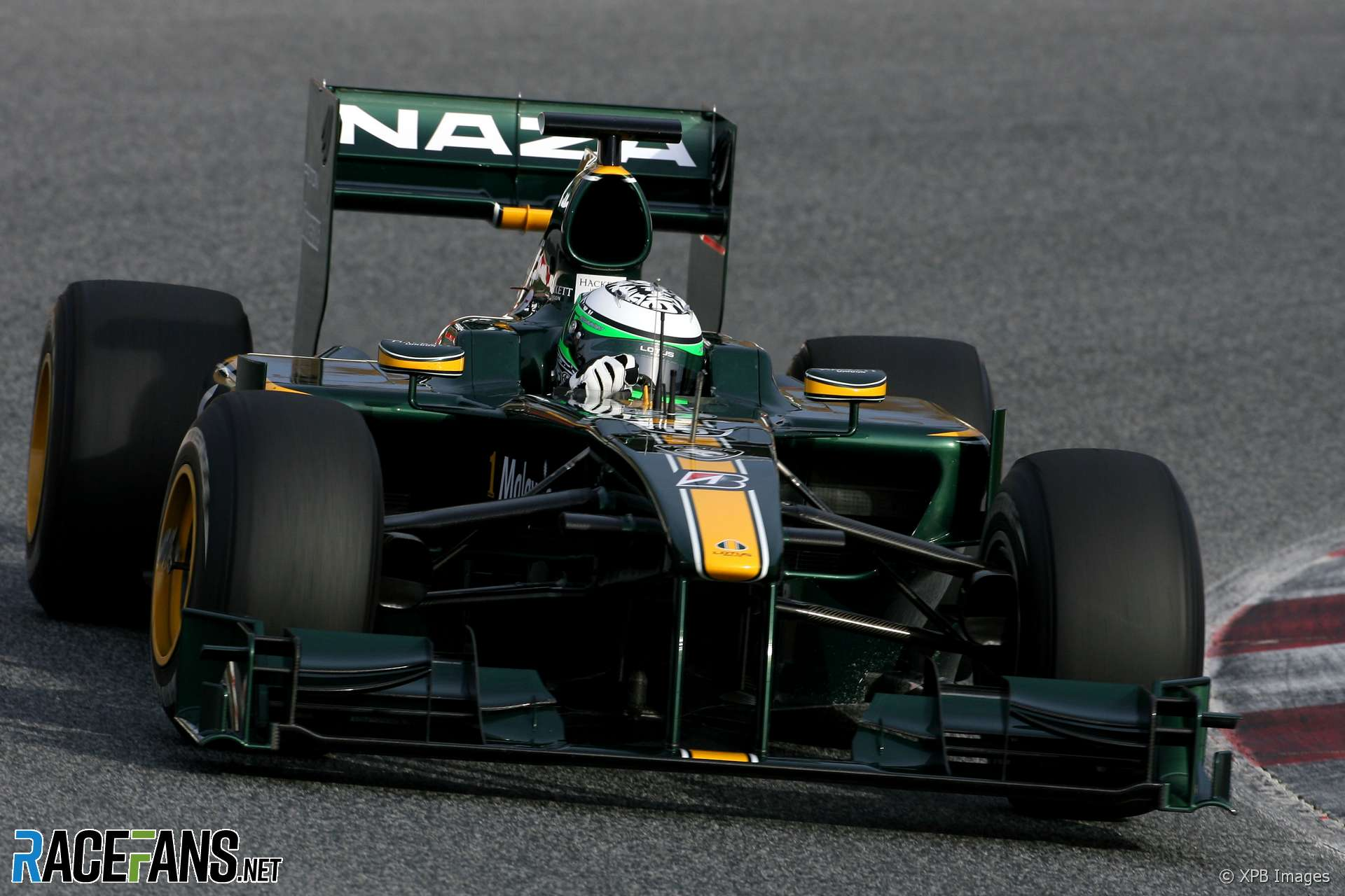 Heikki Kovalainen, Lotus, Circuit de Catalunya, 2010