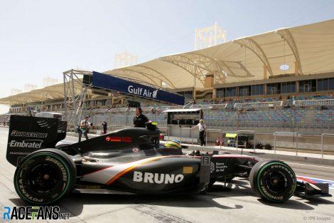 Bruno Senna, HRT, Bahrain, 2010