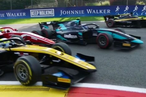 Latifi and Schumacher collided at turn one