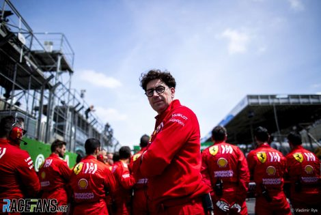 Mattia Binotto, Ferrari, Interlagos, 2019
