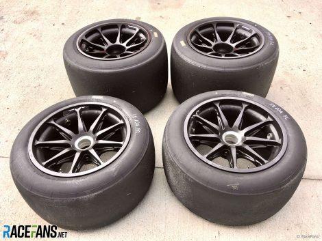 Pirelli's prototype 18-inch 2021 tyres